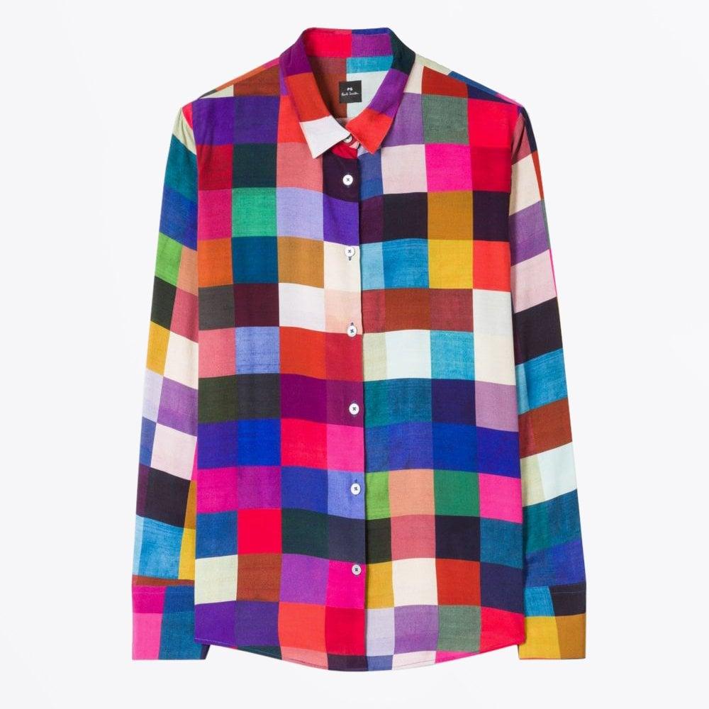 baaef3f0cd PS Paul Smith - Colour Block Check Shirt - Mr & Mrs Stitch