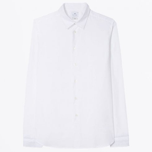 PS Paul Smith - Cotton Stretch Shirt - White