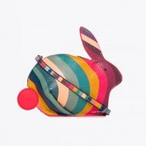 - Rabbit Multi Colour Swirl Bag - Multi