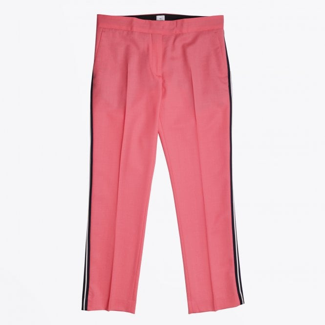 PS Paul Smith - Side-Stripe Wool Trousers - Pink