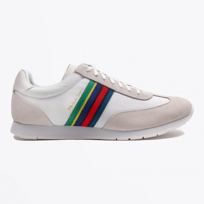 PS Paul Smith - Sports Stripe 'Prince' Trainers - White