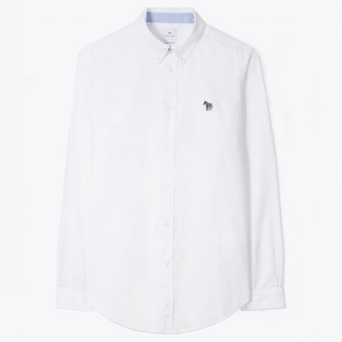 PS Paul Smith - Tailored Oxfort Shirt - White