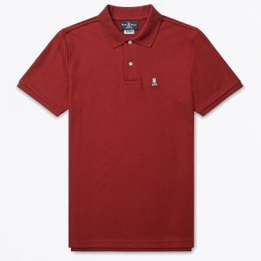 - Classic Polo Shirt - Wine