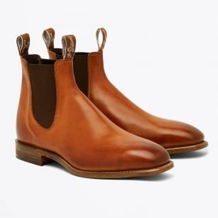 - Chinchilla Boots - Cognac