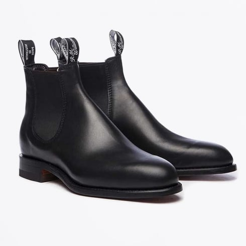 R.M Williams - Comfort Craftsman Boot - Black