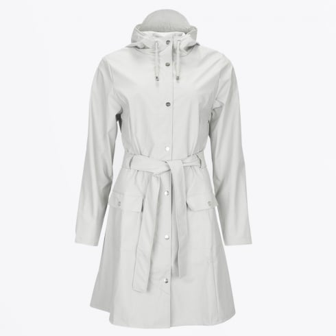 Rains - Curve Jacket - Belted Raincoat - Moon