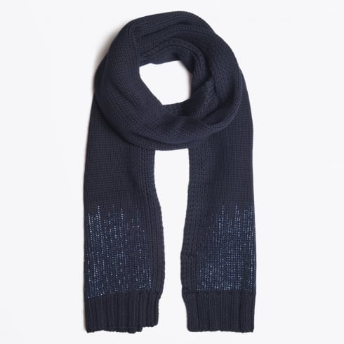 Rino & Pelle - Mily Embellished Scarf - Navy Blue