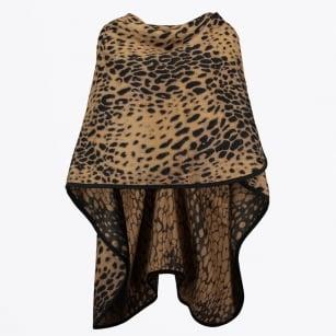   Scarf Masy Leopard Cape - Brown