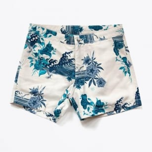 - Buckler Japanese Shorts - Chalk
