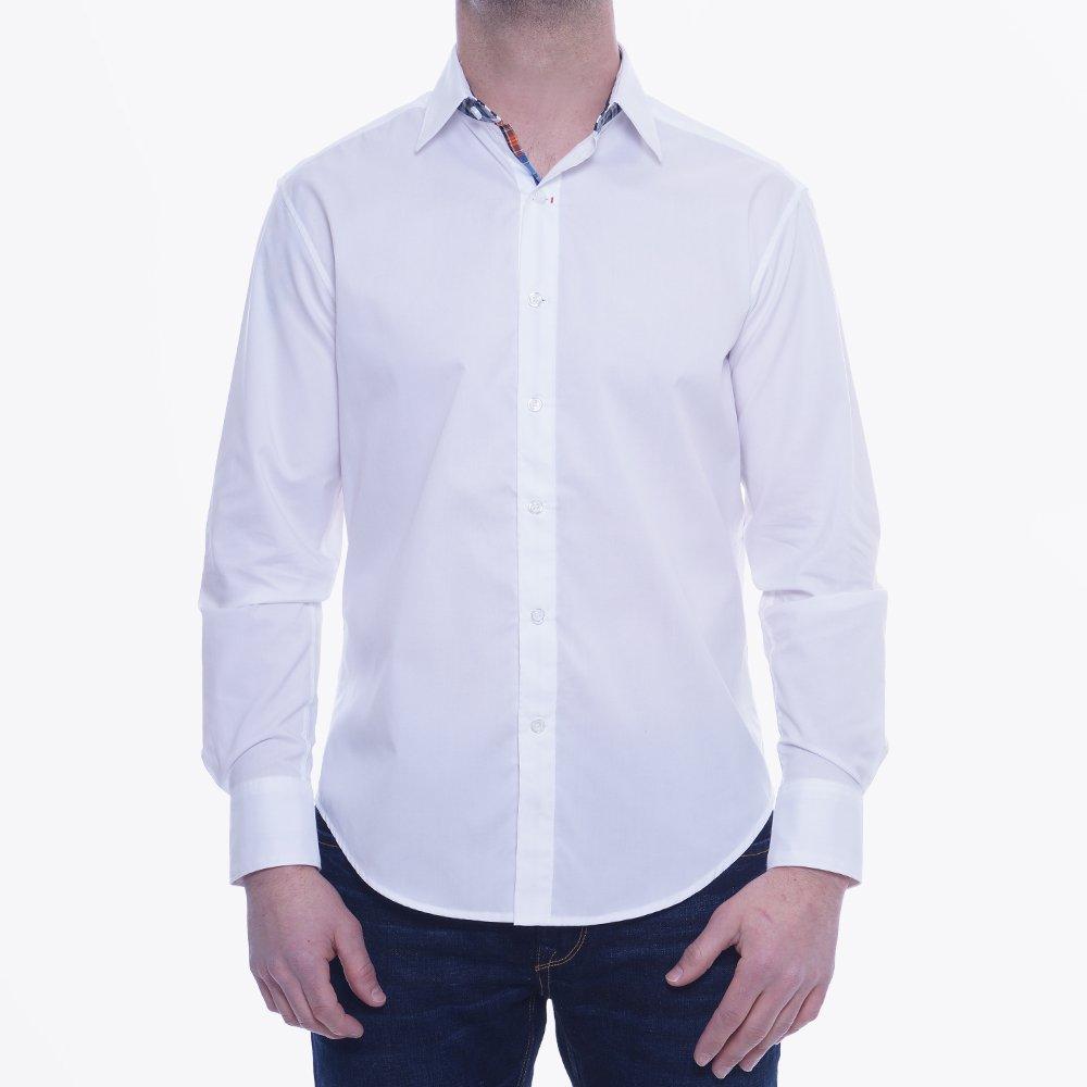 Robert graham torino sport shirt xs141000 white for Robert graham sport shirt