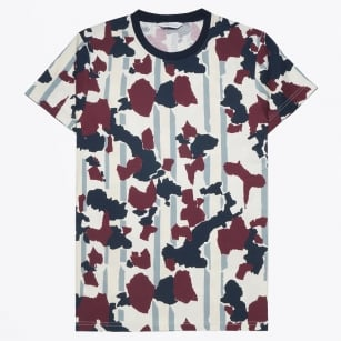 | Belknap O-N Camo T-Shirt - Wine Decor