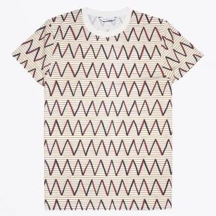 | Belknap O-N Zig Zag T-Shirt - Wine ZZ
