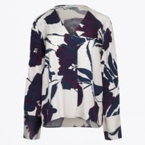 - Cassandra Long Sleeve Printed Top