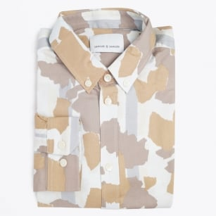 - Jay BX Camouflage Print Shirt - Light Decor