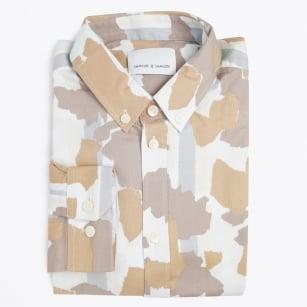 | Jay BX Camouflage Print Shirt - Light Decor