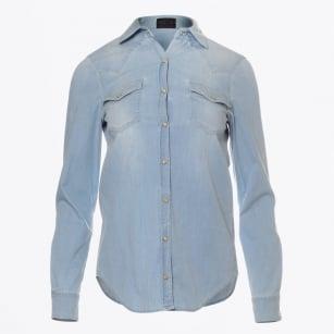 | Sandie Texas Classic Shirt - Light Denim