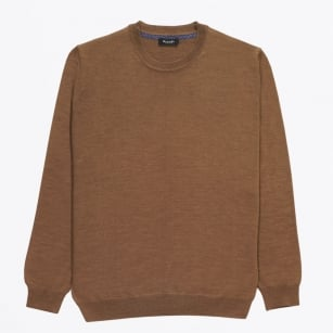| Merino Crew Neck Jumper - Fig