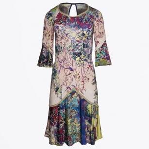   Bohemian Floral Dress - Print