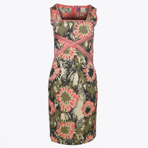 Save The Queen - Camo Print Dress - Multi