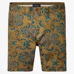| All Over Printed Shorts - Brown