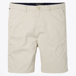 - Classic Chino Shorts - Regular Length - Stone