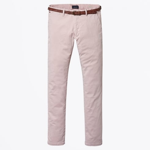 Scotch & Soda - Classic Garment Dyed Stretch Chino - Sunset Dust