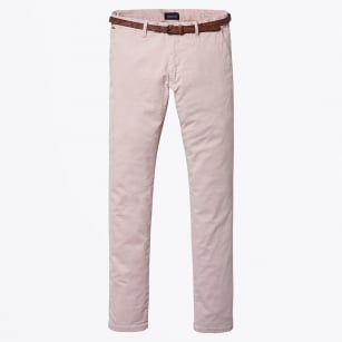 | Classic Garment Dyed Stretch Chino - Sunset Dust
