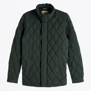 - Classic Quilted Jacket - Green