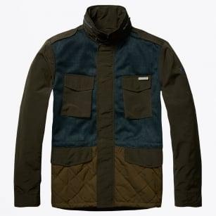   Contast Jacket - Combo A - Khaki
