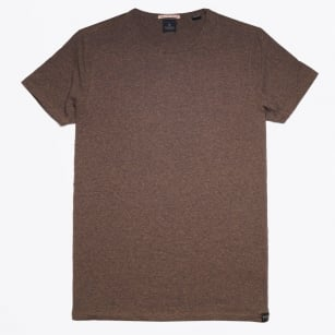 - Crewneck T-Shirt - Brown