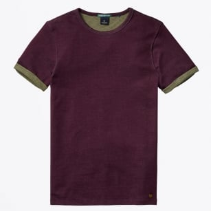 | Double Faced Jersey Tee - Deep Purple