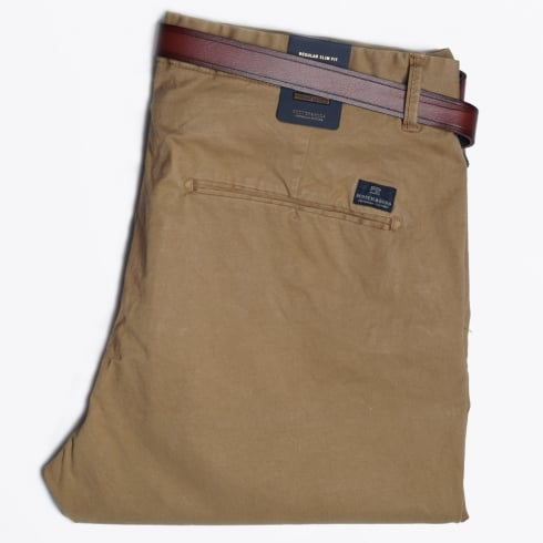 Scotch & Soda - Garment Dyed Chinos - Khaki