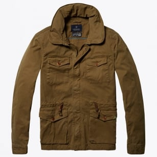 | Garment Dyed Field Jacket - Khaki
