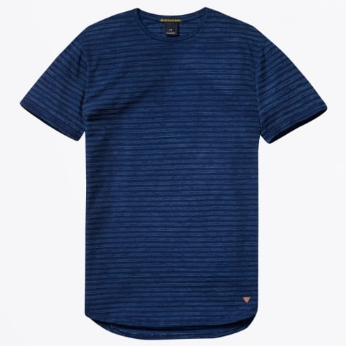Scotch & Soda - Jersey Indigo Tee - Combo C - Navy Blue