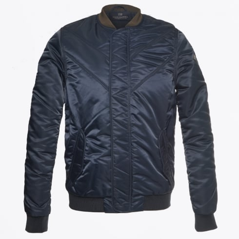 Scotch & Soda - Padded Bomber Jacket - Night