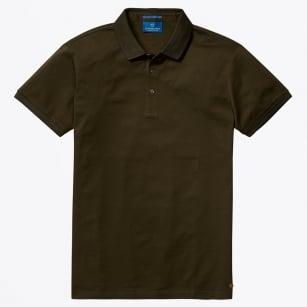   Pique Polo Shirt - Military