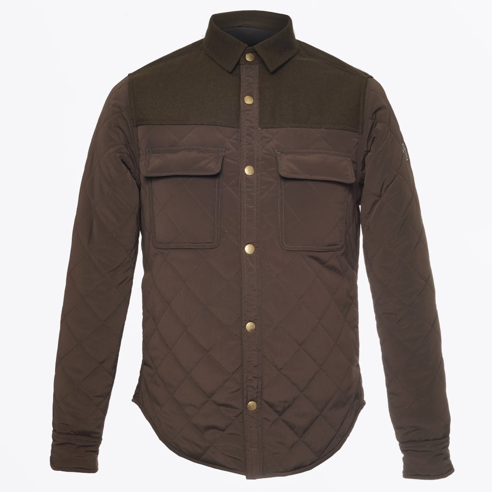 scotch soda quilted shirt jacket army mr mrs stitch. Black Bedroom Furniture Sets. Home Design Ideas