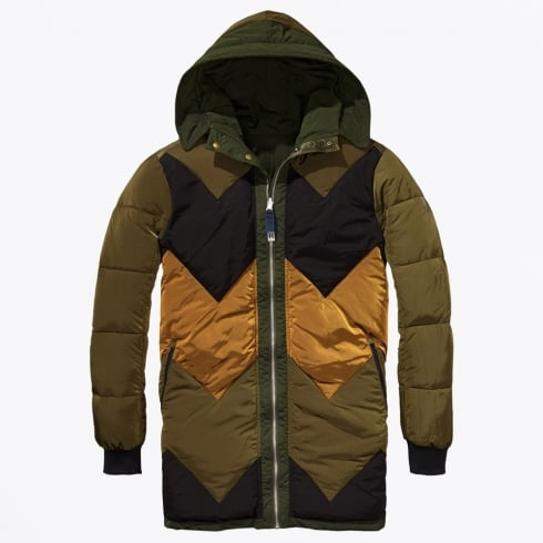 Scotch & Soda - Reversible Parka - Deep Forest