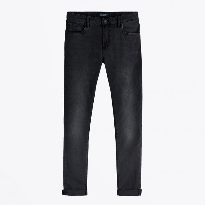 Scotch & Soda - Skim - Skinny Fit Jeans - Charcoal
