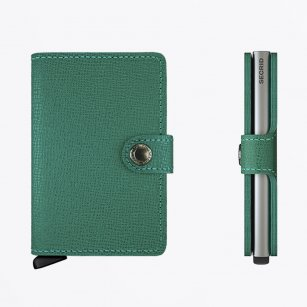 | Mini Wallet : Crisple Emerald