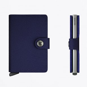 | Mini Wallet : Crisple Indigo