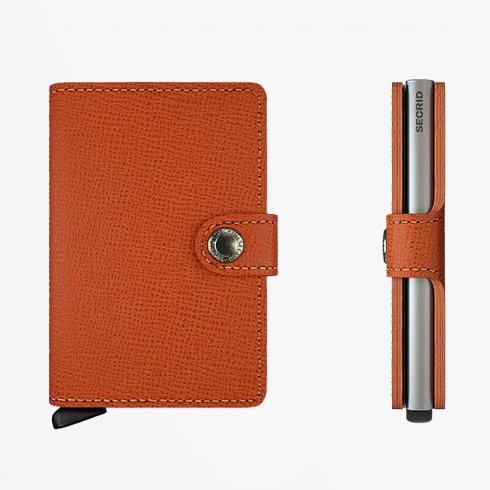 Secrid - Mini Wallet : Crisple Orange
