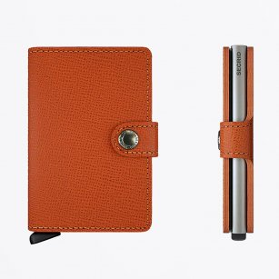 | Mini Wallet : Crisple Orange