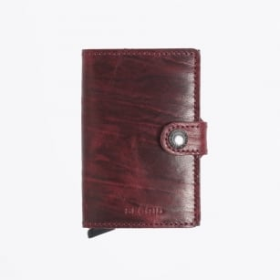 - Mini Wallet: Dutch Martin - Bordeaux