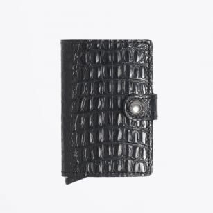 | Mini Wallet : Nile - Black