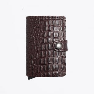 | Mini Wallet - Nile - Brown