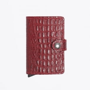 | Mini Wallet: Nile - Red