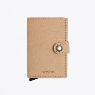 | Mini Wallet : Recycled Natural