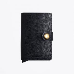 | Miniwallet - Crisple - Black/Gold