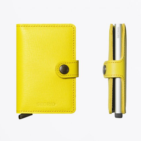 Secrid - Miniwallet : Crisple Lemon Leather